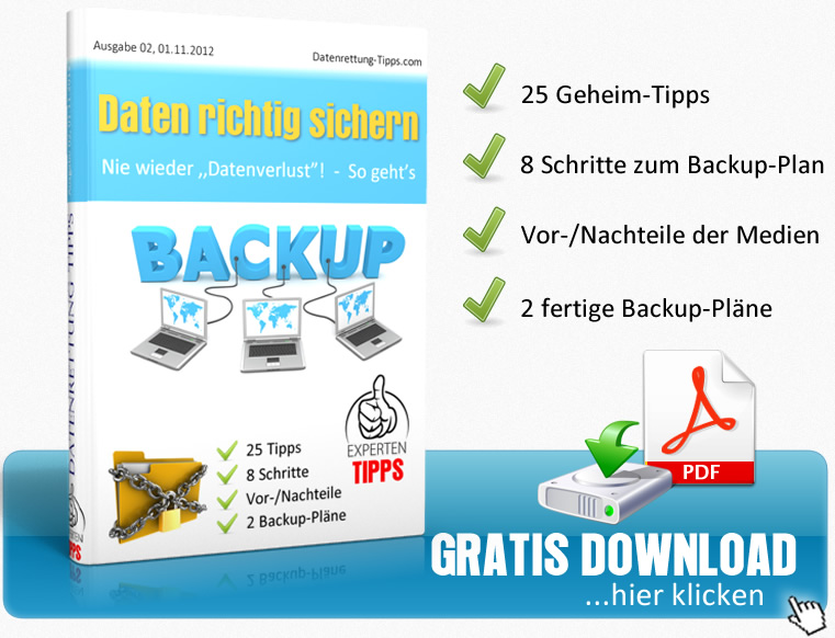 Checkliste 2 - Datenrettung Germany