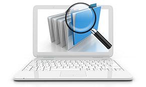 Datenwiederherstellung und Kontrolle der geretteten Daten